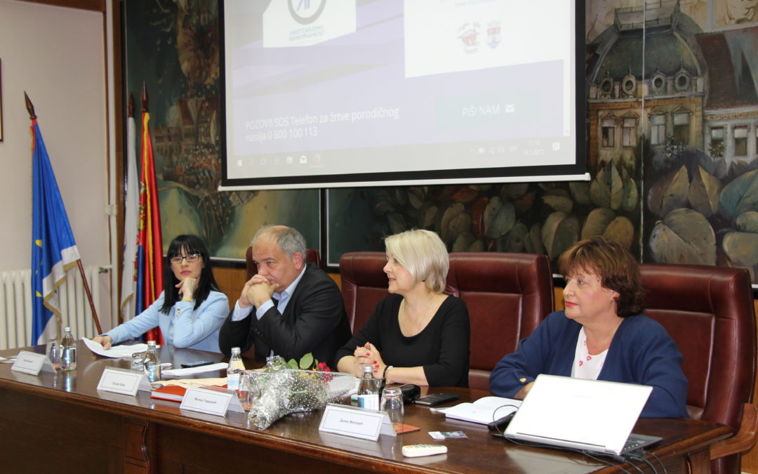 Oбележено десет година постојања Савета за родну равноправност града Панчева