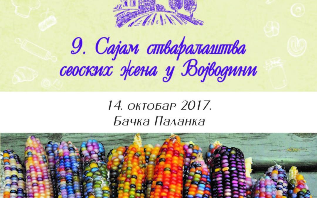 9. Sajam stvaralaštva seoskih žena u Vojvodini