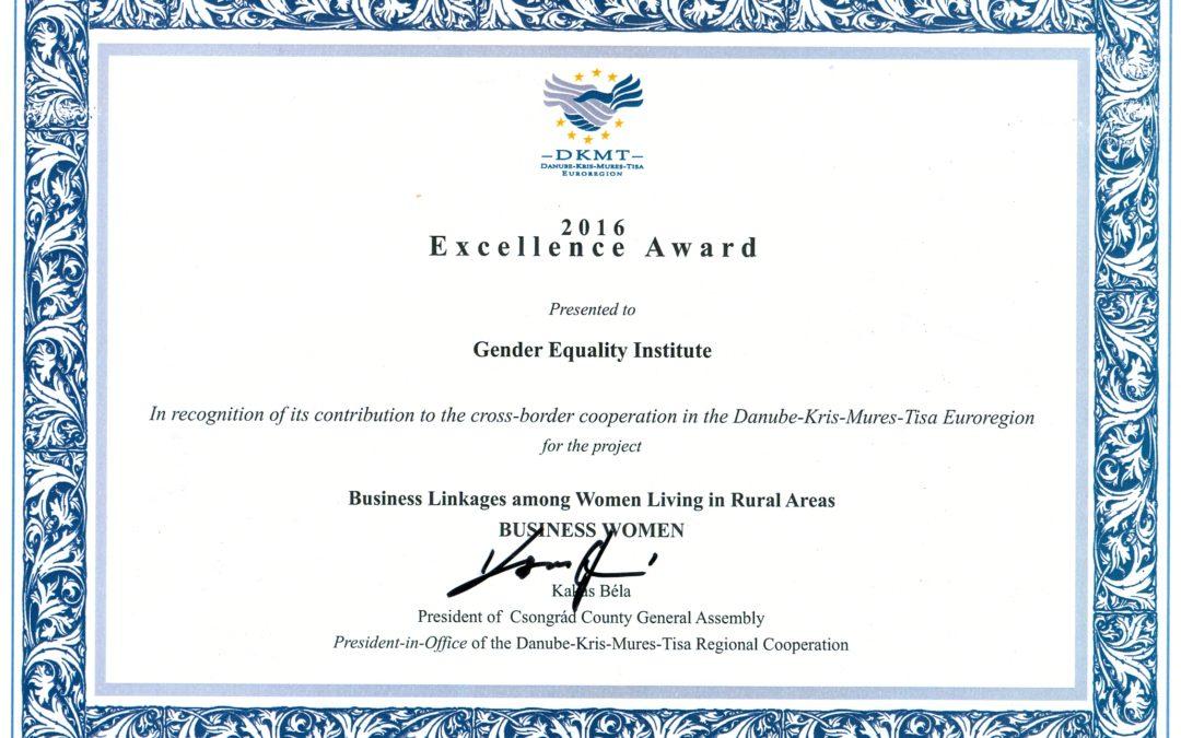 Заводу за равноправност полова уручена награда за пројекат прекограничне сарадње са Мађарском