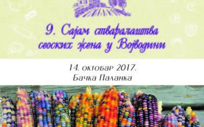 9. Сајам стваралаштва сеоских жена у Војводини