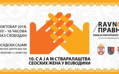 10. Sajam stvaralaštva seoskih žena u Novom Sadu