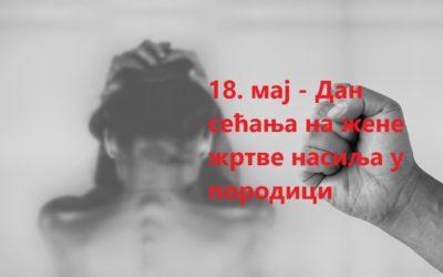 Дан сећања на жене жртве насиља