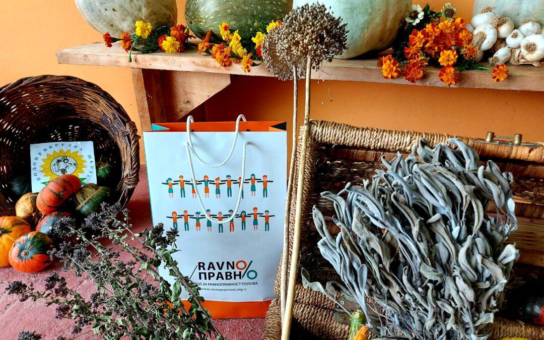 Prerada lekovitog, aromatičnog i začinskog bilja kao put do ekonomskog osnaživanja žena na selu